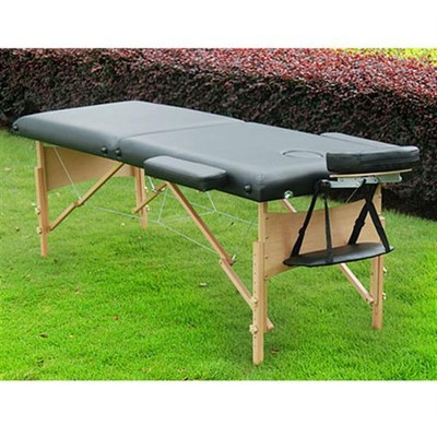 "2.5"" Portable Massage Table - Black"
