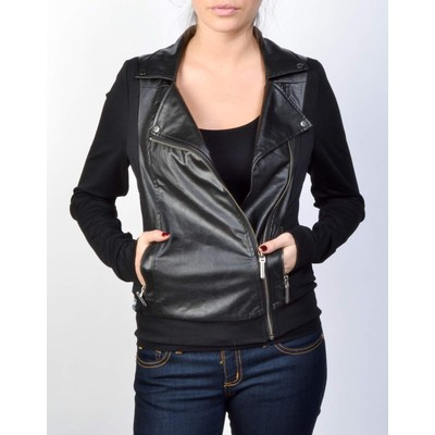 Karv VEGAN LEATHER JACKET