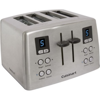 Cuisinart-Refurbished Custom Classic 4-Slice Toaster (RBT870), Manufacturer Recertified