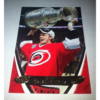 NHL ERIC STAAL 06/07 UPPER DECK POWER PLAY STANLEY CUP CELEBRATIONS CC1