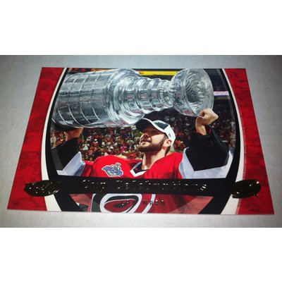 NHL CAM WARD 06/07 UPPER DECK POWER PLAY STANLEY CUP CELEBRATIONS CC2