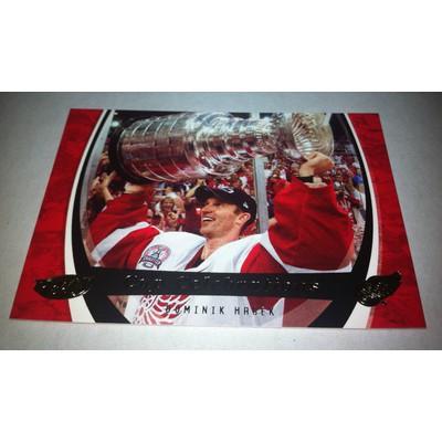NHL DOMINIK HASEK 06/07 UPPER DECK POWER PLAY STANLEY CUP CELEBRATIONS CC3