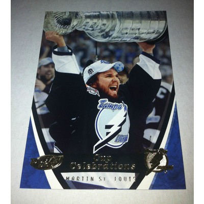 NHL MARTIN ST.LOUIS 06/07 UPPER DECK POWER PLAY STANLEY CUP CELEBRATIONS CC5