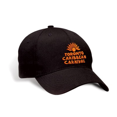 Toronto Caribbean Carnival Brushed Cotton Cap Black Arch Logo
