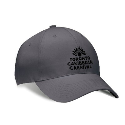 Toronto Caribbean Carnival Brushed Cotton Cap Graphite/Grey Arch Logo