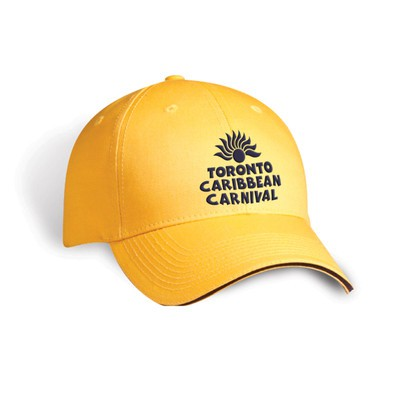 Toronto Caribbean Carnival Brushed Cotton Cap Orange Arch Logo