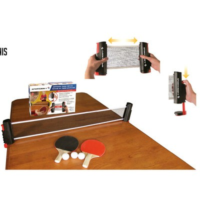 SPORTCRAFT PORTABLE TABLE TENNIS PING PONG GAME PLAY SET ATTACH TO ANY TABLE