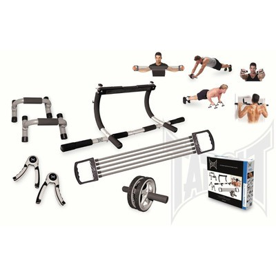 TAPOUT 5 PIECE HOME GYM EXERCISE STRENGTH TRAINING SET