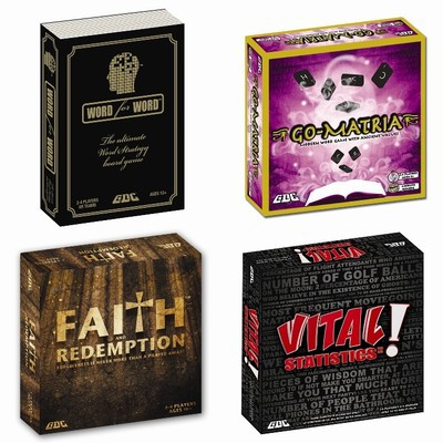 Family Game Combo Pack - 4 Games
