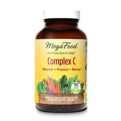 MegaFood Complex C 90 Tablets (30 Servings)