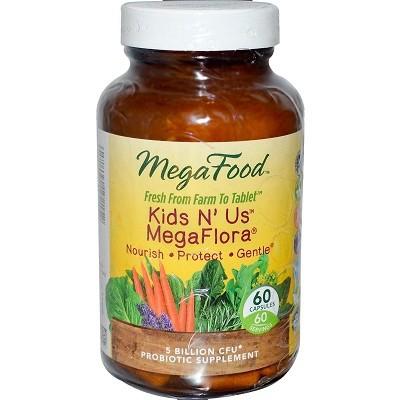 MegaFood Kids N' Us MegaFlora 60 capsules