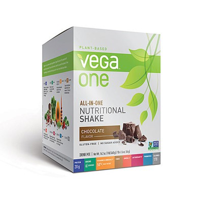 Vega All-in-One Nutritional Shake - Chocolate 10 x 46 g