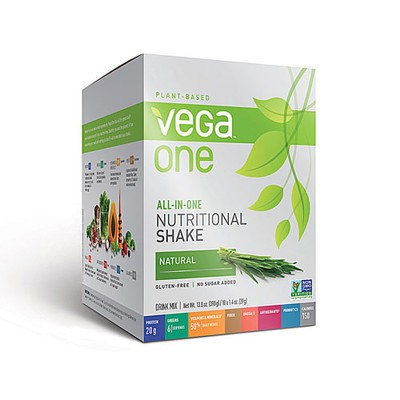 Vega All in One Nutritional Shake - Natural 10 x 39 g