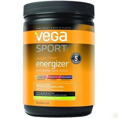 Vega Sport Sugar-Free Energizer - Lemon Lime 136g Powder