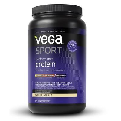 NEW Vega Sport Performance Protein - Vanilla Flavour 829 g