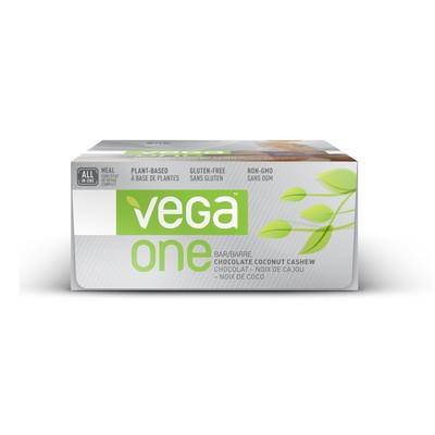 Vega One Bar - Chocolate Coconut Cashew 12 Bars