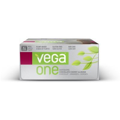 Vega One Bar - Chocolate Cherry Almond 12 Bars