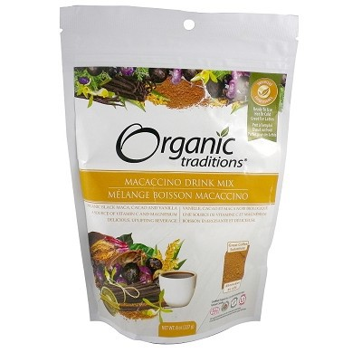 Organic Traditions Macaccino Drink Mix 227 g