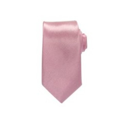 2 X Casual Stylish Slim Necktie (Skinny Tie) - Pink Color