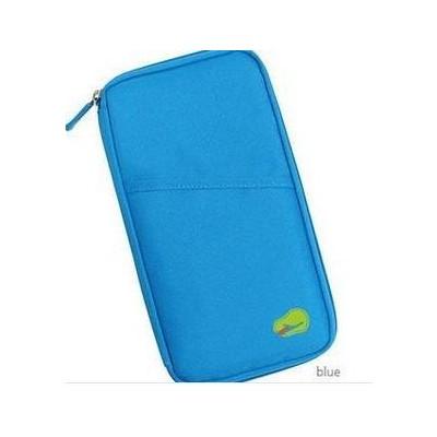 Passport Holder Wallet - Blue Color