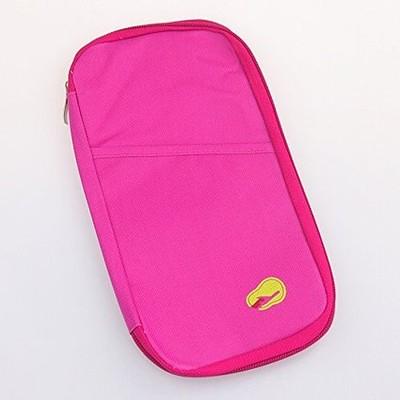 Passport Holder Wallet - Hot Pink Color