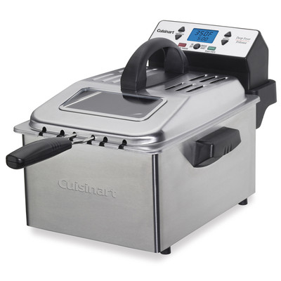Cuisinart-Refurbished Professional 3 Basket Deep Fryer (DF-560), Manufacturer Recertified