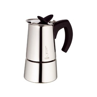 Espresso Maker - Stovetop - 6 cup - Stainless steel - Musa