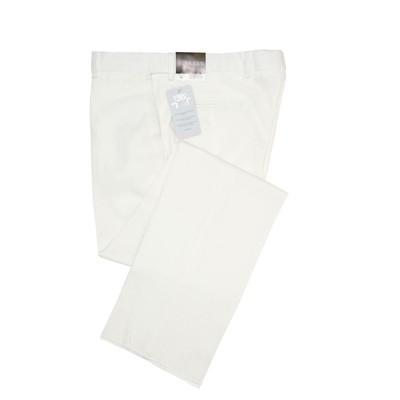J. Braxx by Ballin, Beige Wrinkle Free Linen Stretch Flat Front Pant