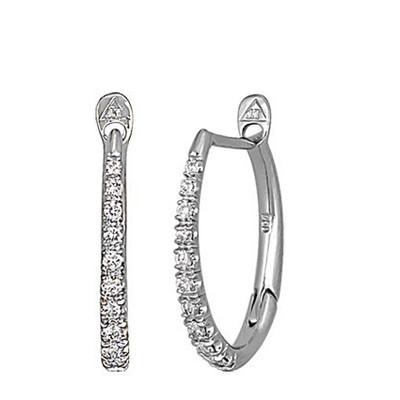 Lumax Design Diamond Hoop.