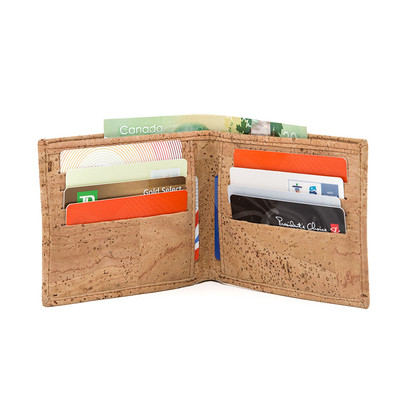 CORK WALLET  VEGAN BI-FOLD
