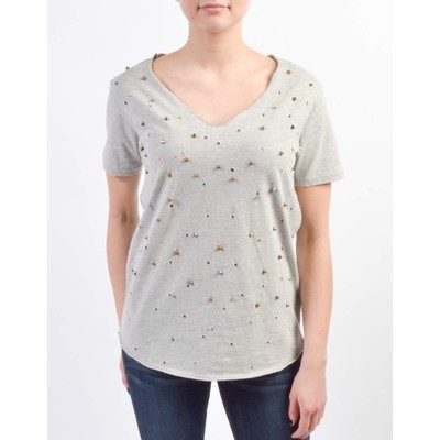 Guess EMBELLISHED AND DESTROYED TEE