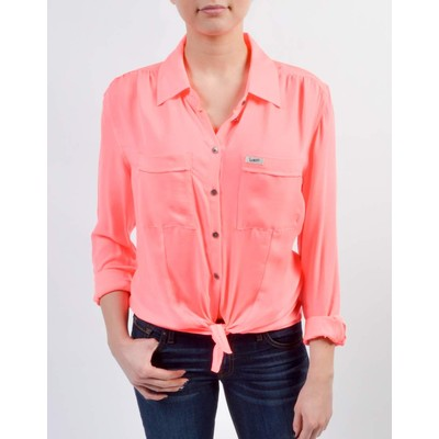 Guess CHARLOTTE TIE FRONT BLOUSE
