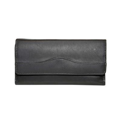 """Genuine Leather RFID Ladies 7"""" Wallet"""
