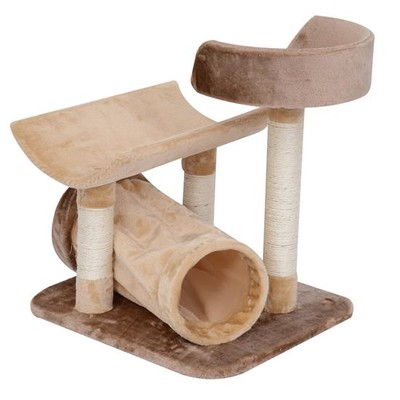 "29"" Cat Tree House with Tunnel"