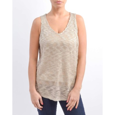 RD - Razzle Dazzle LOOSE KNIT SWEATER TANK