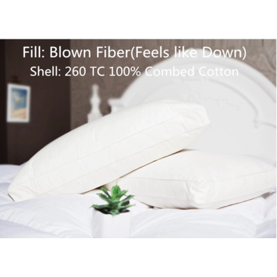 Synthetic Pillow & Cushion (Feel Like Down) 1 pair (2 Pieces)