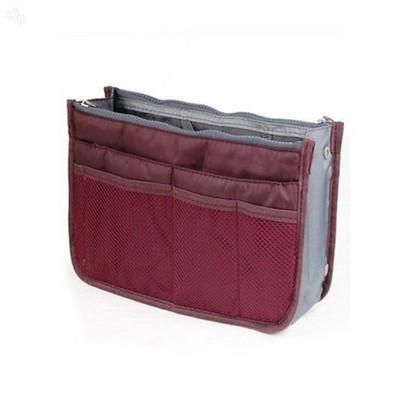 Bag in Bag Organizer - Wine Red Color