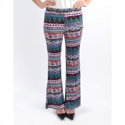 Sweet Claire PRINTED STRIPED PALAZZO PANT