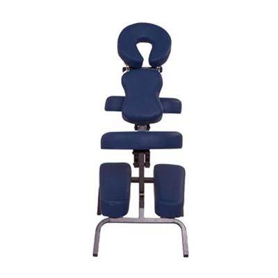 "Portable 3"" Foam Massage Chair - Blue"
