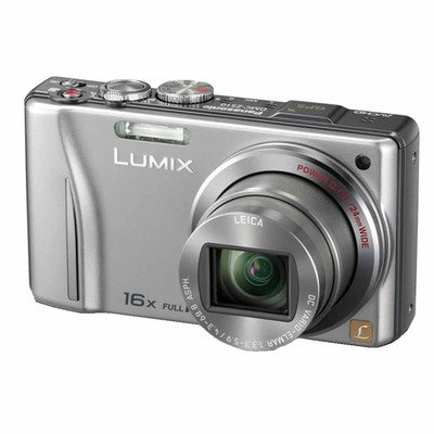 Panasonic-Refurbished Lumix DMC-ZS8 Silver Digital Camera - Manufacturer Recertified with 90 days Warranty