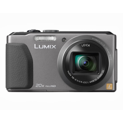 Panasonic-Refurbished Lumix DMC-ZS30 Silver Digital Camera - Manufacturer Recertified with 90 days Warranty