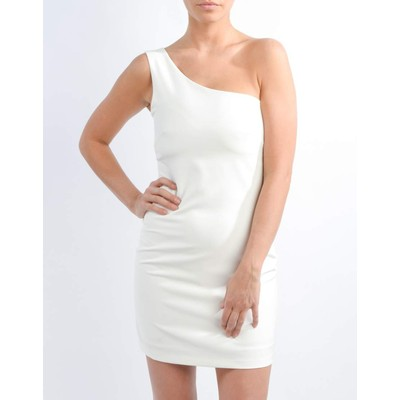 LOVE&LOVE  ONE SHOULDER DRESS