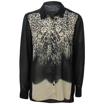 Classe Couture ANIMAL PRINT FRONT PANEL BLOUSE