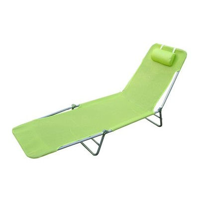 Mesh Sun Lounge Chair - Green