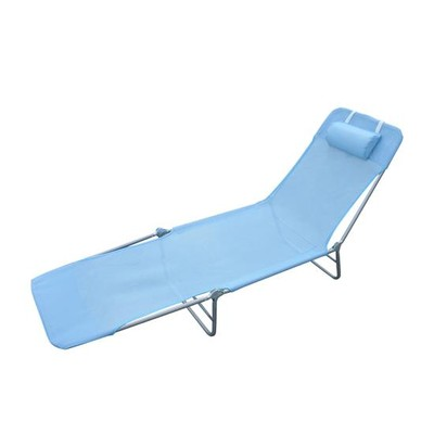 Mesh Sun Lounge Chair - Blue