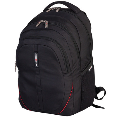 "SWISS GEAR BACKPACK FITS MOST 15.6"" LAPTOP. COLOUR - BLACK"