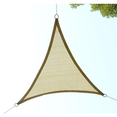 18' Triangular Sun Shade Sail Canopy Sand