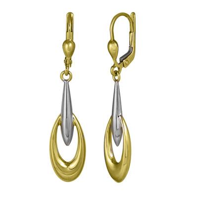 Two Tone Torch Light Earrings