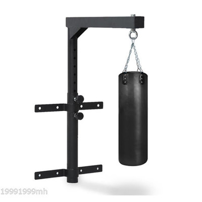 Wall Mount Punching Heavy Bag Hanger Sports Boxing Black