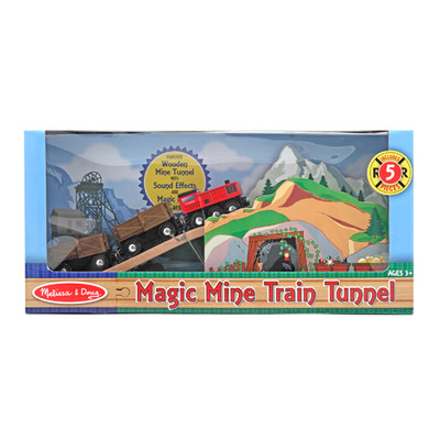 Melissa & Doug Magic Mine Train Tunnel
